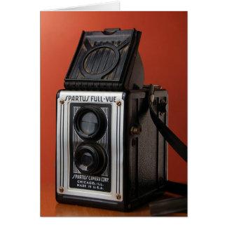 Vintage Camera Design Card