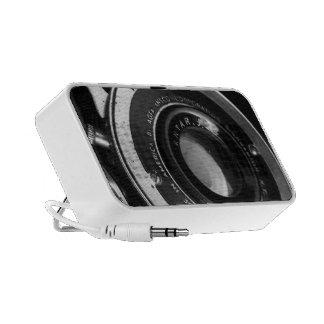 Vintage Camera Doodle Mini Speakers