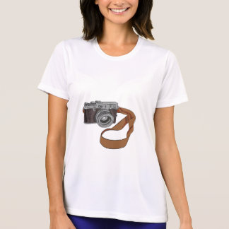 Vintage Camera Drawing Isolated T-Shirt