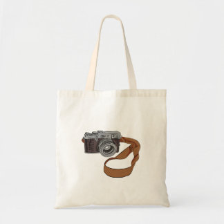 Vintage Camera Drawing Isolated Tote Bag