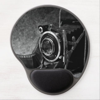 Vintage Camera Gel Mouse Pad