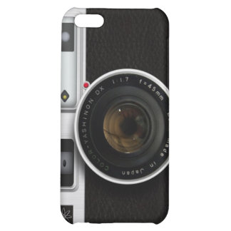 Vintage camera case for iPhone 5C