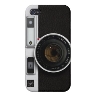 Vintage camera case for iPhone 4