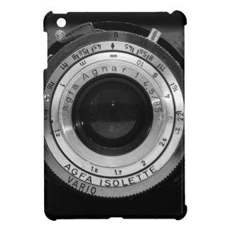 Vintage camera lens iPad mini cases