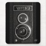 Vintage Camera Lens Mouse Mat Mouse Pad