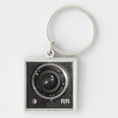 Vintage Camera Lens On A Keychain at Zazzle