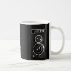 Vintage Camera Lens On Mug Or Drinks Glass at Zazzle