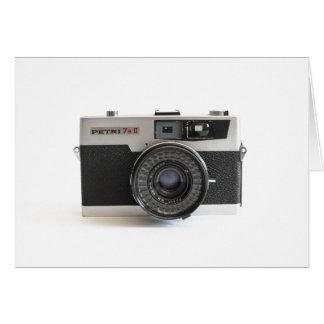 vintage camera lover card