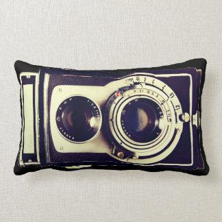 Vintage Camera Lumbar Pillow