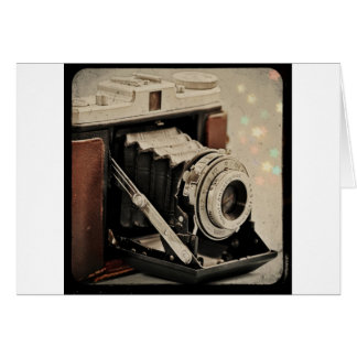 Vintage Camera Magic Card