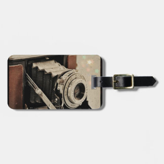 Vintage Camera Magic Tags For Luggage