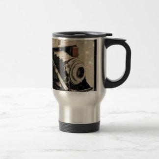Vintage Camera Magic 15 Oz Stainless Steel Travel Mug