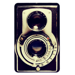 Vintage Camera Magnet