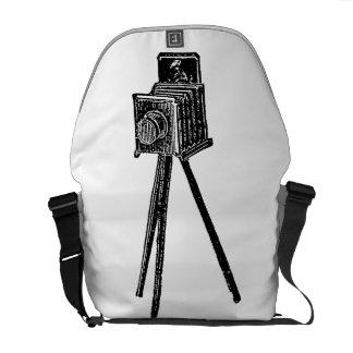 Vintage Camera Medium Bag Courier Bags