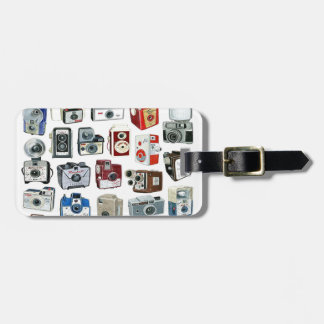 Vintage Camera Montage Tag For Luggage