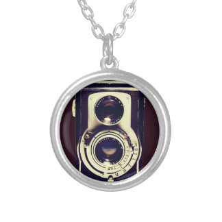Vintage camera necklaces
