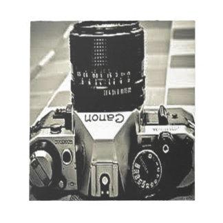 Vintage Camera Memo Pad