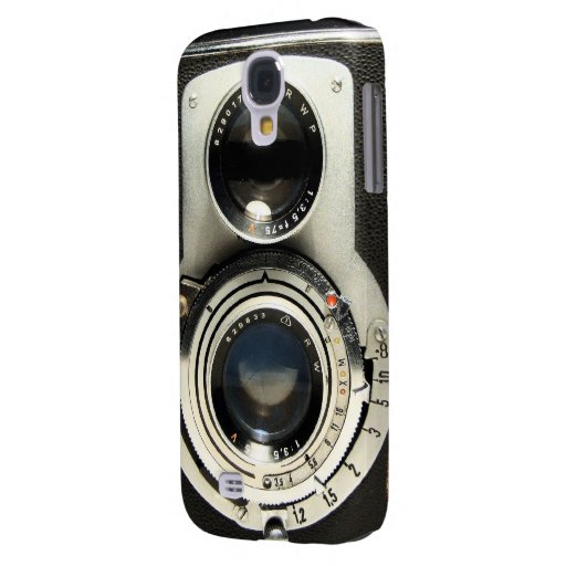 Vintage Camera - Old Fashion and Antique Look Galaxy S4 Covers