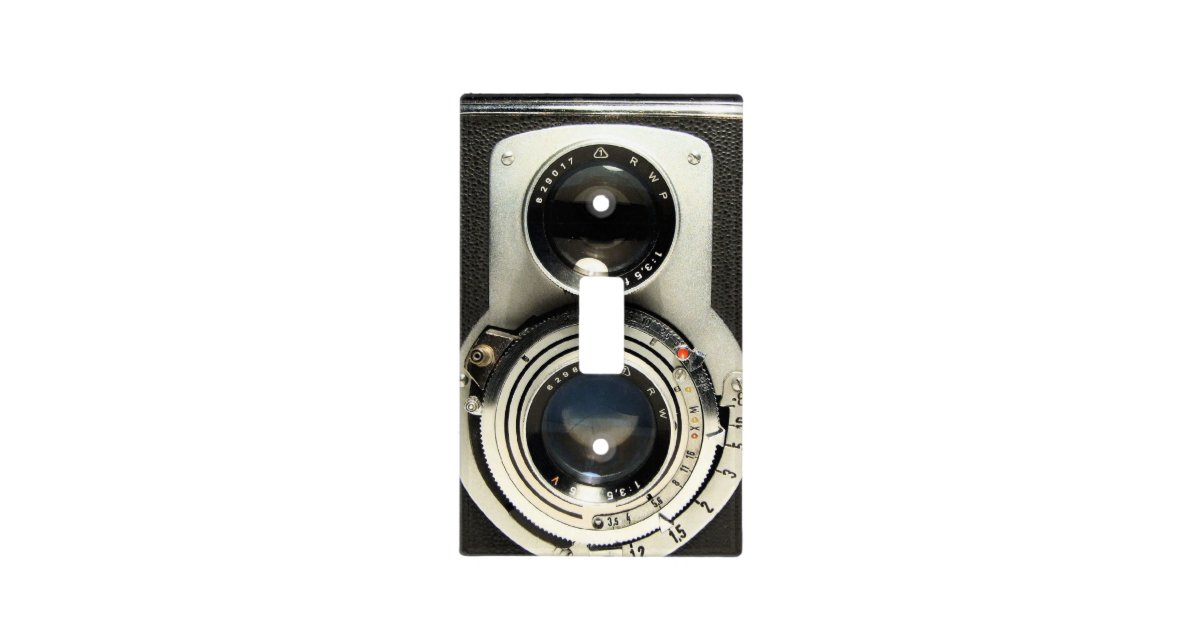 Vintage Camera - Old Fashion and Antique Look Light Switch Cover ...