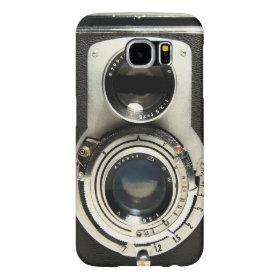 Vintage Camera - Old Fashion Antique Look Samsung Galaxy S6 Cases