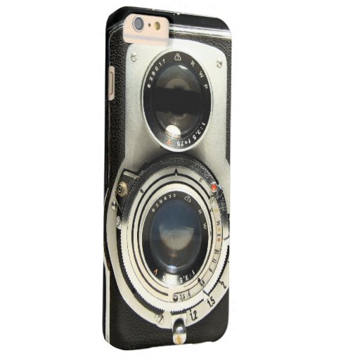 Vintage Camera - Old Fashion Antique Look Barely There iPhone 6 Plus ...