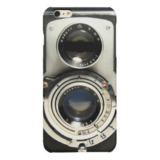 Vintage Camera - Old Fashion Antique Look Glossy iPhone 6 Plus Case