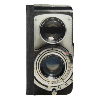 Vintage Camera - Old Fashion Antique Look iPhone 6/6s Plus Wallet Case