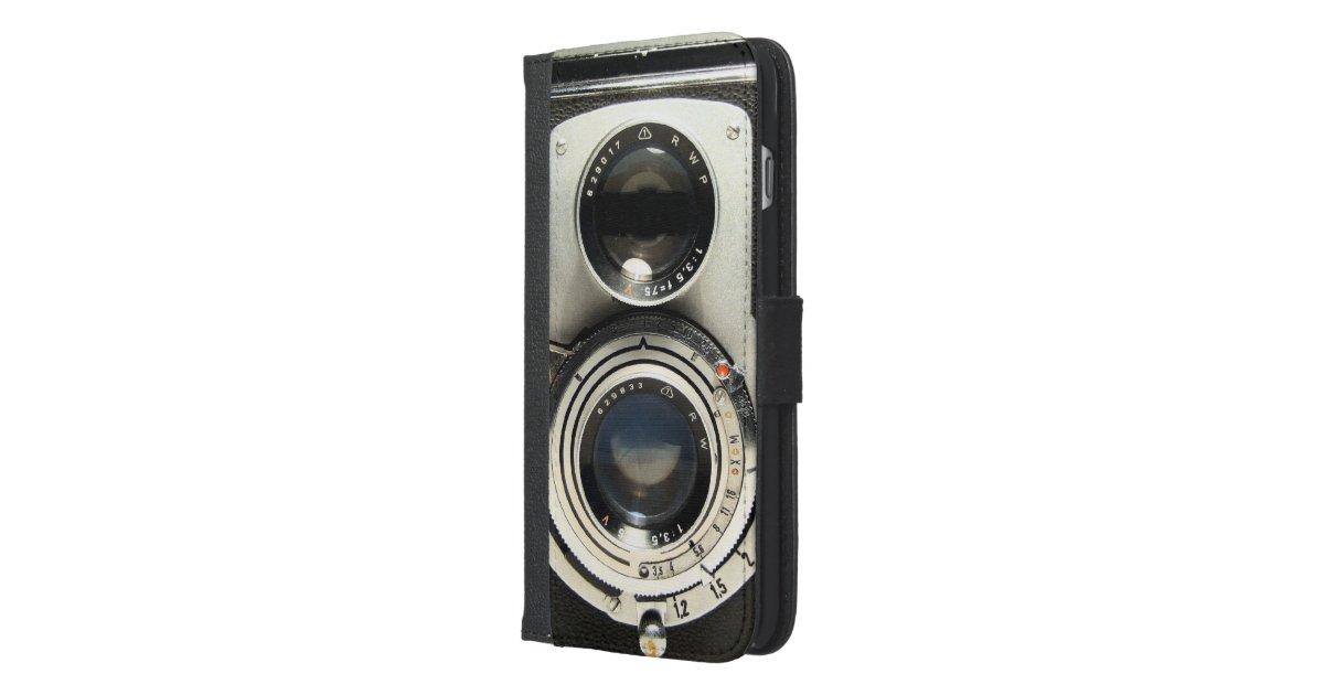Vintage Camera - Old Fashion Antique Look iPhone 6/6s Plus Wallet Case ...