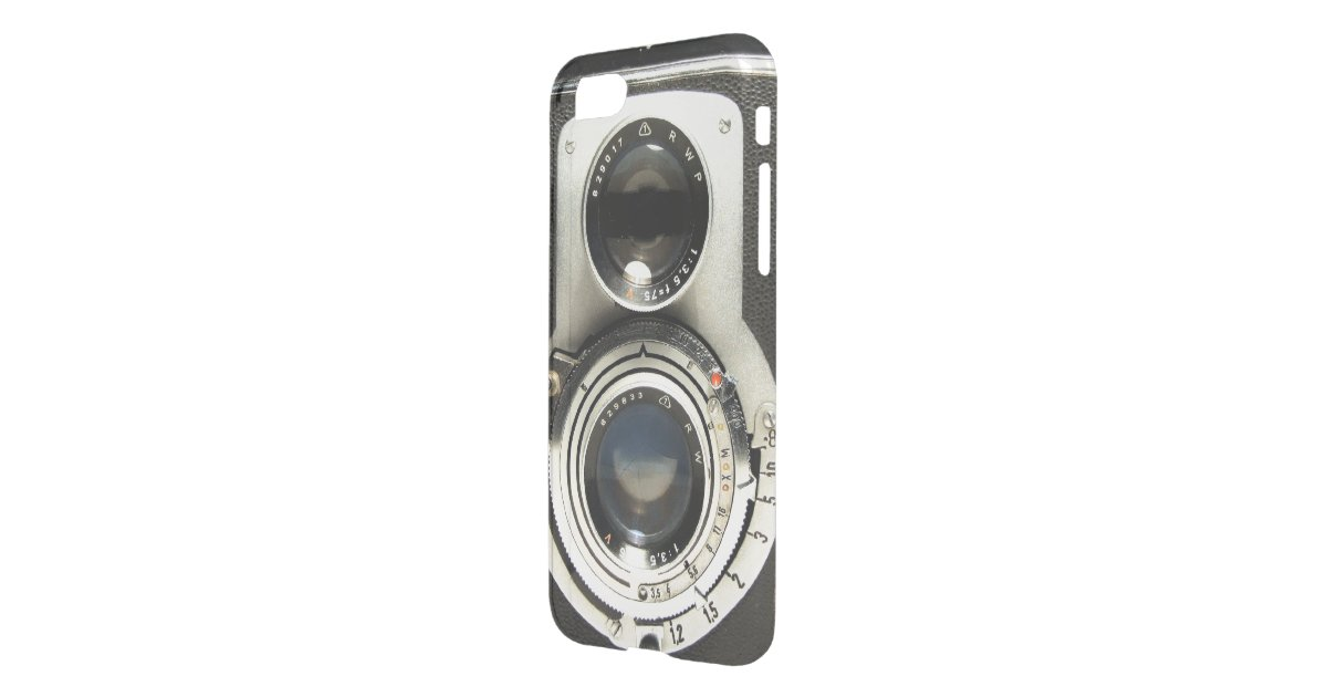 Vintage Camera Pattern - Old Fashion Antique Look iPhone 7 Case ...