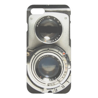 Vintage Camera Pattern - Old Fashion Antique Look iPhone 7 Case