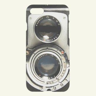 Vintage Camera Pattern - Old Fashion Antique Look