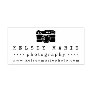 Vintage Camera | Photographer Rubber Stamp