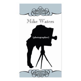 Vintage Camera Photography Business Card