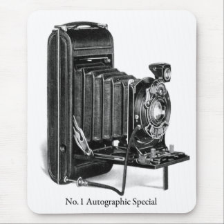 Vintage Camera Photograpy No.1 Autographic Special Mouse Pad