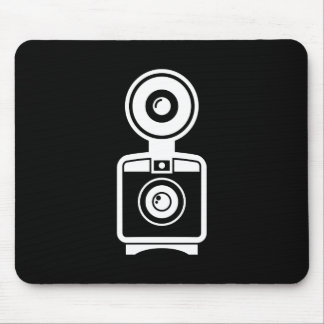 VIntage Camera Pictogram Mousepad