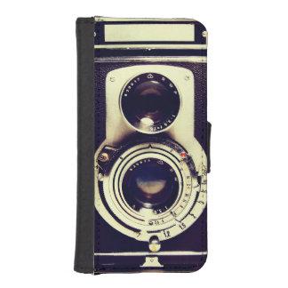 Vintage Camera Phone Wallet Case