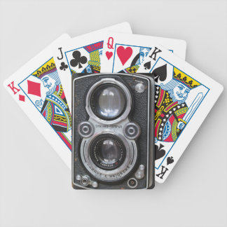Vintage Camera Playing Cards