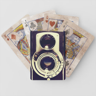 Vintage Camera Bicycle Playing Cards