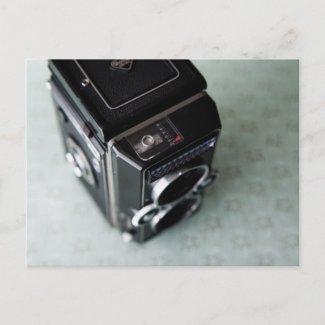 Vintage Camera Postcard - Rolleiflex postcard
