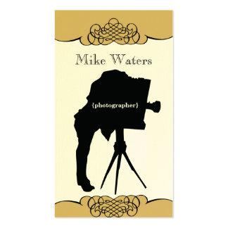 Vintage Camera Premium Paper Business Card