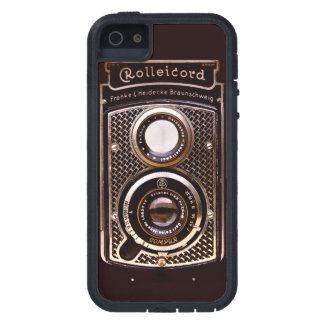 Vintage camera rolleicord art deco iPhone 5 covers