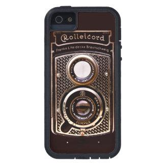 Vintage camera rolleicord art deco iPhone SE/5/5s case