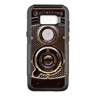 Vintage camera rolleicord art deco OtterBox commuter samsung galaxy s8  case