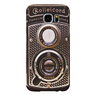 Vintage camera rolleicord art deco samsung galaxy s6 case