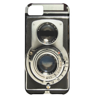 Vintage Camera Rolleiflex Cover For iPhone 5C