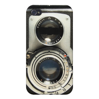 Vintage Camera Rolleiflex iPhone 4/4S Cover