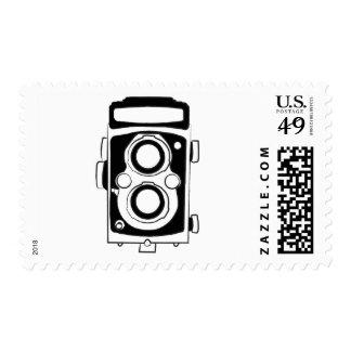 Vintage Camera Stamp