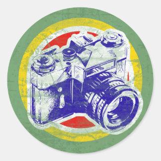 Vintage Camera Stickers