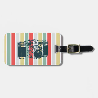 Vintage Camera Tag For Luggage
