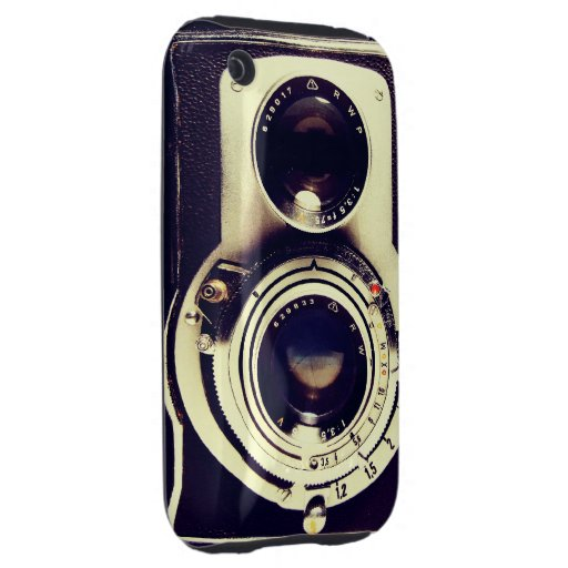 Vintage Camera Tough iPhone 3 Covers